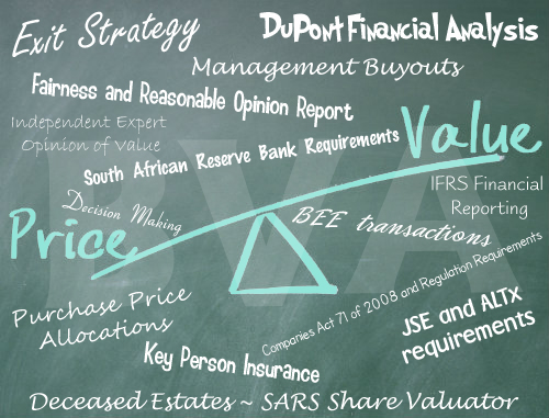 Valuation services for other purposes | Business Valuation